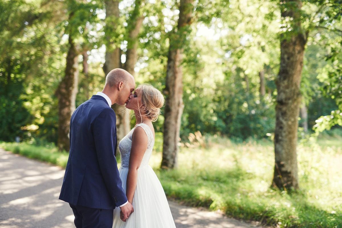 bröllopsfotograf falkenberg brudpar