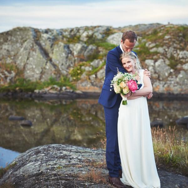 Bröllopsfotograf Käringön - Sandra & Henke