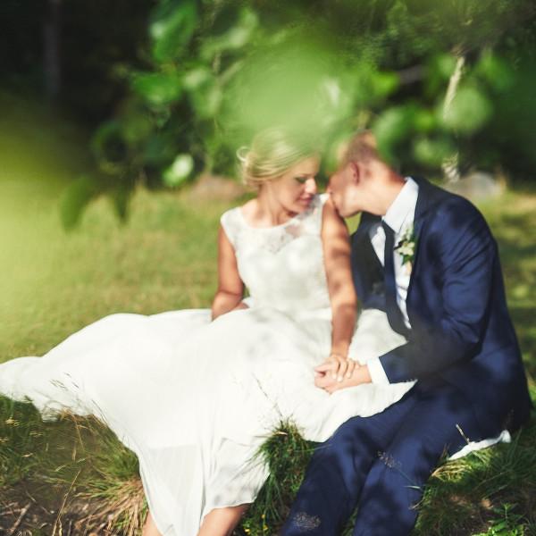 Bröllopsfotograf Falkenberg - Cornelia & Filip