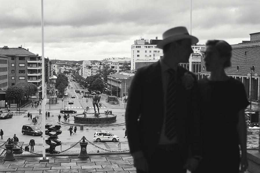 bröllopsfotograf göteborg götaplatsen avenyn
