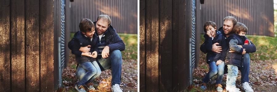 familjefotograf göteborg skog