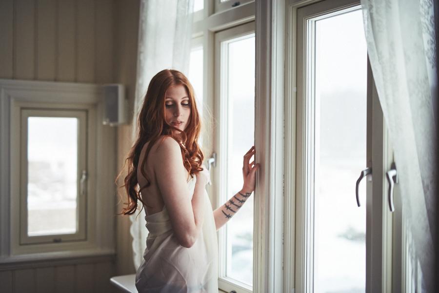 boudoir fotografering morgongåva sensuella bilder