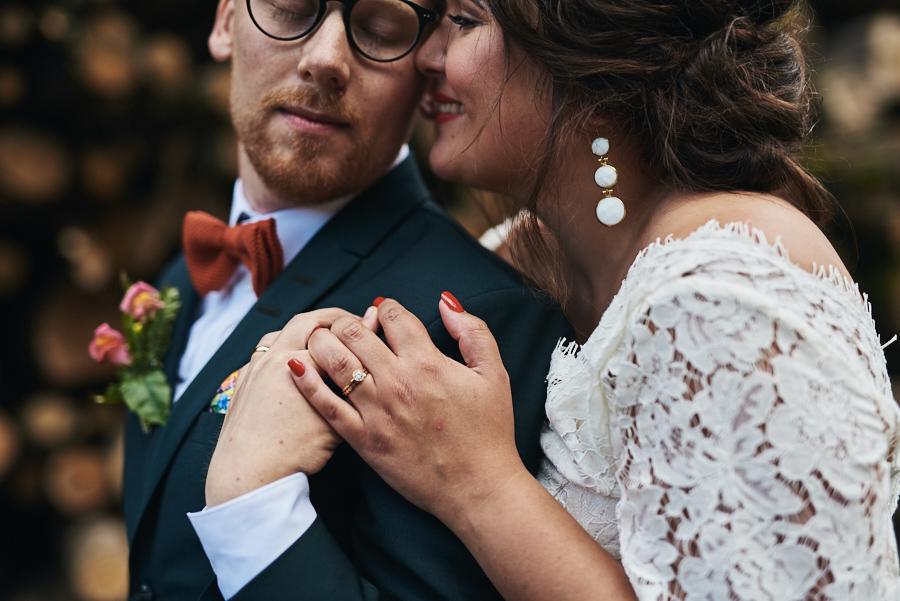 bröllopsfotograf göteborg bröllop nääs brudpar porträtt