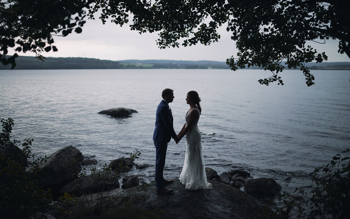 Bröllopsfotograf Kungsbacka - Cattis & Nathan