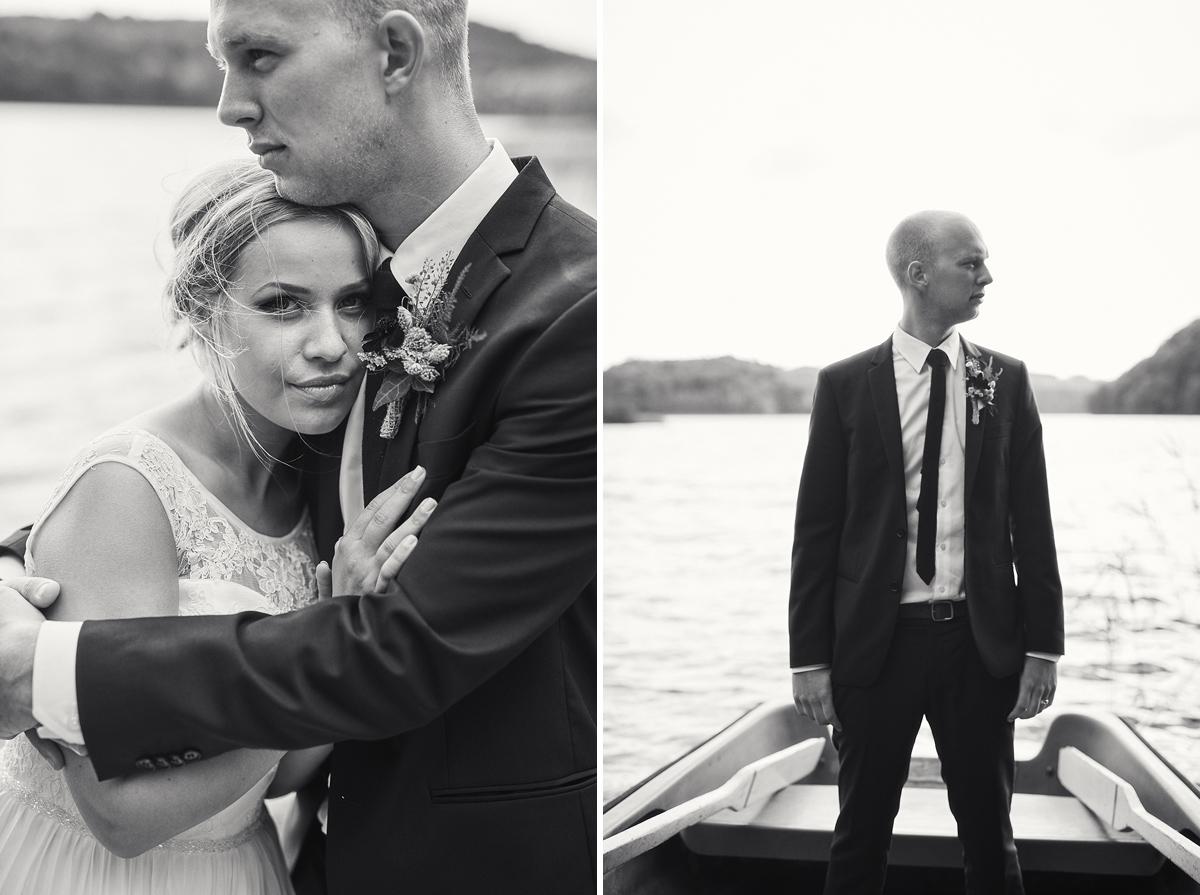 bröllopsfotograf falkenberg brud