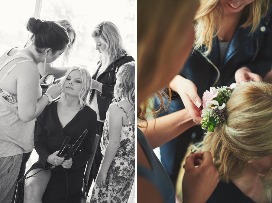 bröllopsfotograf halmstad brud