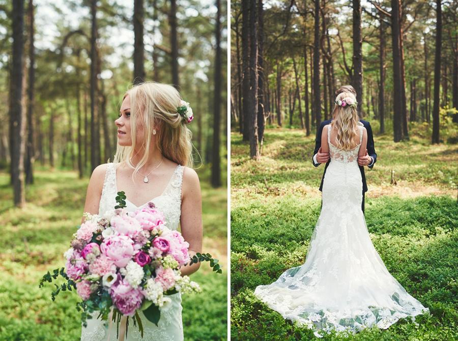 bröllopsfotograf halmstad brudpar
