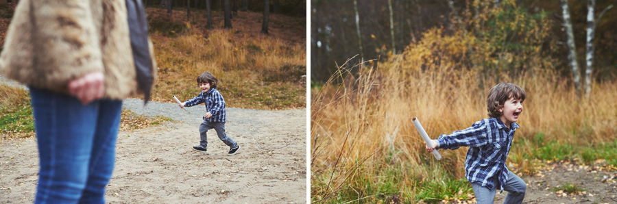 barnfotograf familjefotograf höst göteborg