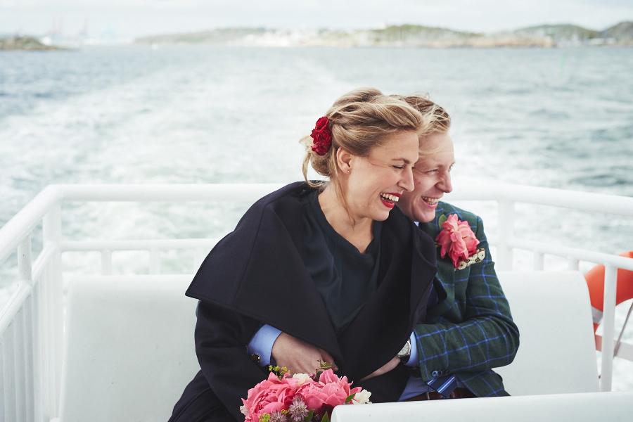 bröllopsfotograf färjan styrsö