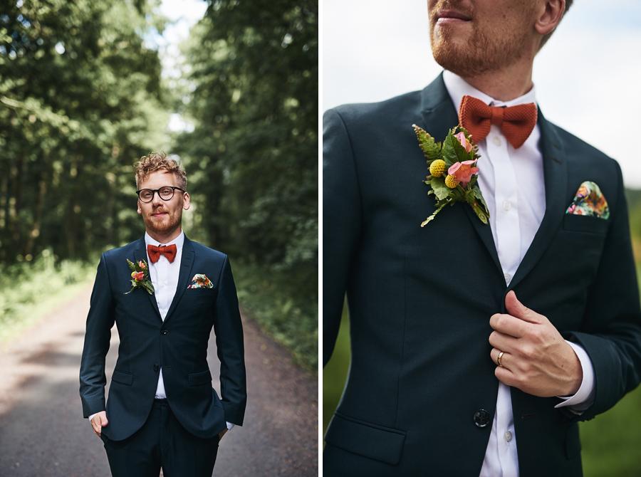 bröllopsfotograf göteborg bröllop nääs brudgum porträtt sk